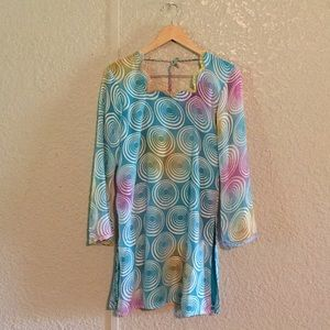 41796659622c8d Women's Pink Vintage Long Sleeve Dress on Poshmark